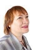 Portrait der älteren Frau Stockfotos