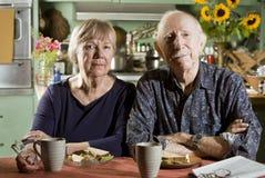 Portrait der älteren Paare Stockbilder