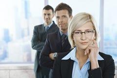Portrait der überzeugten Fachleute Lizenzfreies Stockfoto