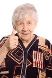 Portrait der alten Frau Lizenzfreies Stockfoto