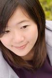 Portrait der asiatischen Frau Lizenzfreie Stockfotos