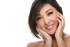 Portrait der asiatischen Frau Lizenzfreies Stockfoto