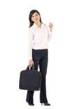 Portrait der asiatischen Geschäftsfrau Lizenzfreies Stockbild