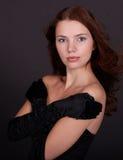 Portrait der attraktiven Frau Lizenzfreie Stockfotografie