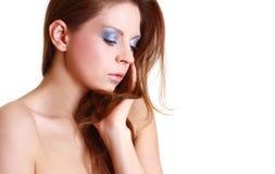Portrait der attraktiven schönen Frau Lizenzfreies Stockfoto