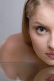 Portrait der beauriful jungen Frau Lizenzfreie Stockbilder