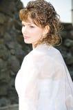 Portrait der Braut Stockbild