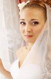 Portrait der Braut stockfoto