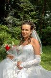 Portrait der Braut Lizenzfreies Stockfoto