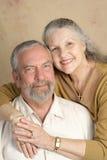 Portrait der fälligen Paare Lizenzfreies Stockbild