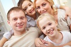 Portrait der Familie Lizenzfreie Stockfotografie