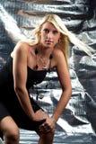 Portrait der Frau Lizenzfreies Stockfoto