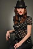 Portrait der Frauen im Studio Lizenzfreie Stockfotos