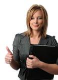 Portrait der Geschäftsfrau Stockfotos