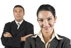 Portrait der Geschäftsleute Lizenzfreies Stockbild