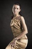 Portrait der hübschen Frau Lizenzfreie Stockfotografie