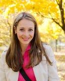 Portrait der hübschen Frau Lizenzfreies Stockfoto
