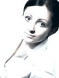 Portrait in der hohen Taste lizenzfreie stockfotos