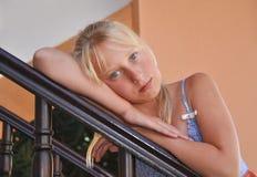 Portrait der Jugendlichen Stockfotos