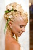 Portrait der jungen blonden Frau Lizenzfreies Stockfoto