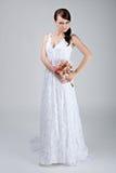 Portrait der jungen Braut Stockbilder