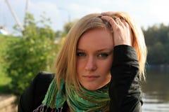 Portrait der jungen Dame Stockfotos