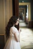 Portrait der jungen Dame. Stockbild