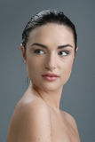 Portrait der jungen Frau Stockfoto