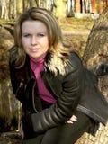 Portrait der jungen Frau Lizenzfreie Stockfotografie