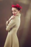 Portrait der jungen Frau Stockbilder