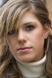 Portrait der jungen Frau Lizenzfreie Stockfotos