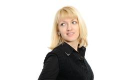 Portrait der jungen Frau der Blondine Lizenzfreie Stockbilder