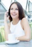 Portrait der jungen Geschäftsfrau Stockfotografie