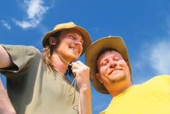 Portrait der jungen Männer Lizenzfreies Stockbild