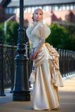 Portrait der jungen schönen Braut Stockbilder