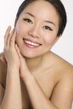 Portrait der jungen und schönen asiatischen Frau. Lizenzfreies Stockbild