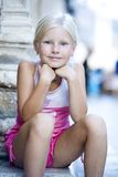 Portrait der kleinen Mädchen Stockfoto
