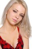 Portrait der lächelnden Frau Stockfotografie