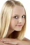 Portrait der lächelnden Jugendlichen Stockbilder