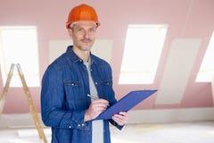 Portrait der manuellen Arbeitskraft Lizenzfreie Stockfotos