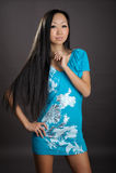 Portrait der netten Frau Lizenzfreies Stockfoto