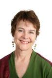 Portrait der netten irischen Frau Lizenzfreie Stockfotos