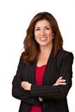 Portrait der recht fälligen Geschäftsfrau Stockfoto