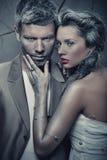 Portrait der reizvollen Paare Stockfotos