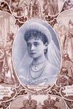 Portrait der russischen Kaiserin lizenzfreies stockbild