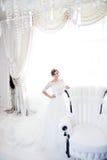 Portrait der schönen Braut kleid Lizenzfreies Stockbild