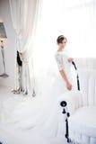 Portrait der schönen Braut kleid Lizenzfreie Stockfotos