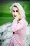 Portrait der schönen Dame Stockfotos