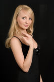 Portrait der schönen Frau. Lizenzfreies Stockfoto