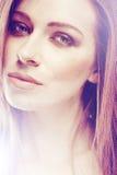Portrait der schönen Frau Stockfoto